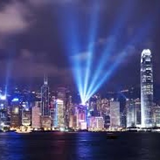 Hong Kong skyscape