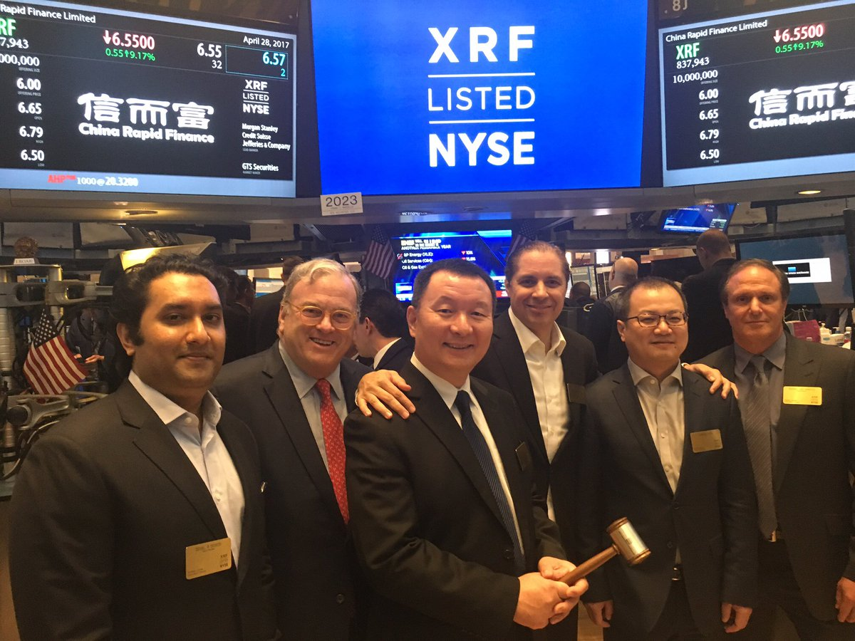 CRF faces at NYSE